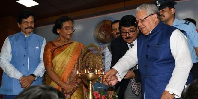 Kalraj Mishra at Allahabad Central University