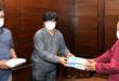जयपुर के स्वास्थ्य केन्द्रों को  राज्यपाल ने भेजे हाइजीन किट