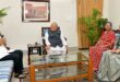 राज्यपाल श्री मिश्र से पश्चिम बंगाल के राज्यपाल की शिष्टाचार मुलाकात