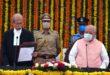 राज्यपाल ने जस्टिस श्री कुरैशी को राजस्थान उच्च न्यायालय के मुख्य न्यायाधीश पद की शपथ दिलाई